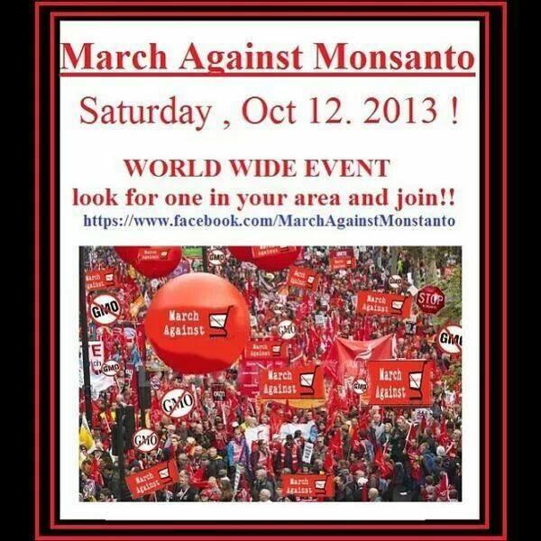 Il 12 ottobre in tutto il Mondo si terranno varie marce di protesta contro la Monsanto.