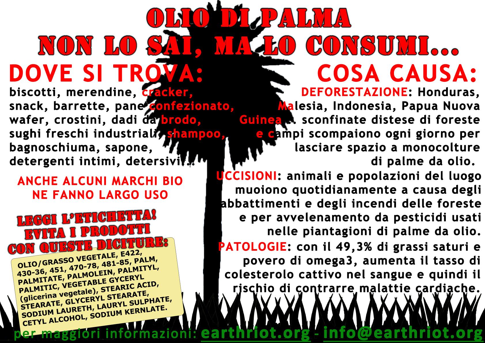 a2 olio di palma