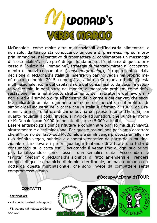 volantino occupymcdonaldsTOUR