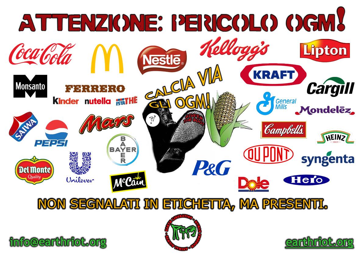 Cartellone A3 marchi OGM