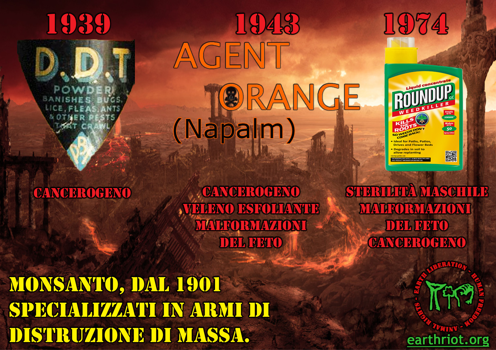 armi chimiche monsanto A2