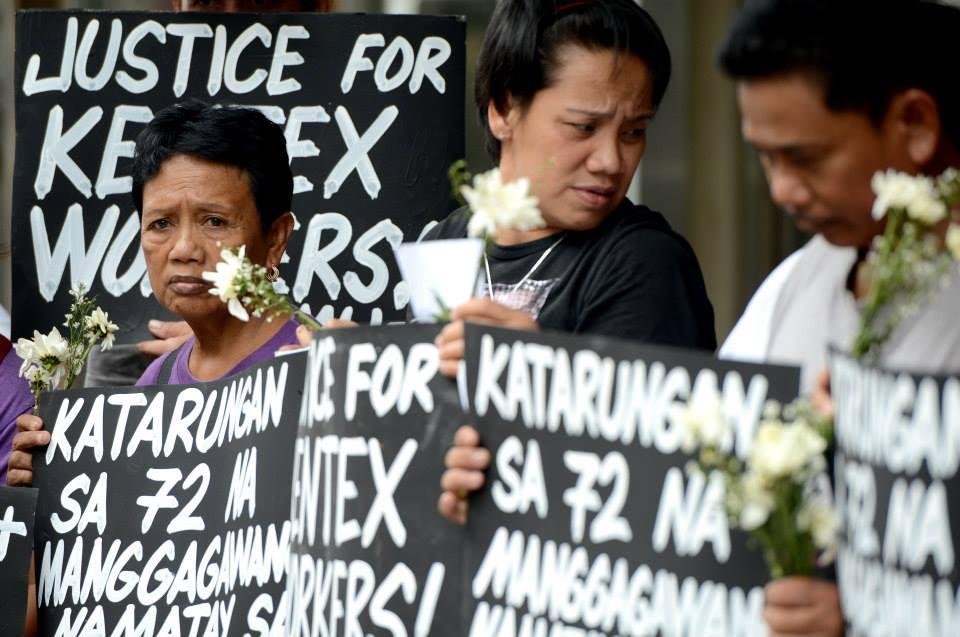 filippine famigliari vittime