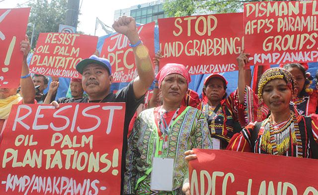 Filippine resist-oil-palm