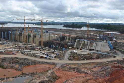 L'impianto di Belo Monte.
