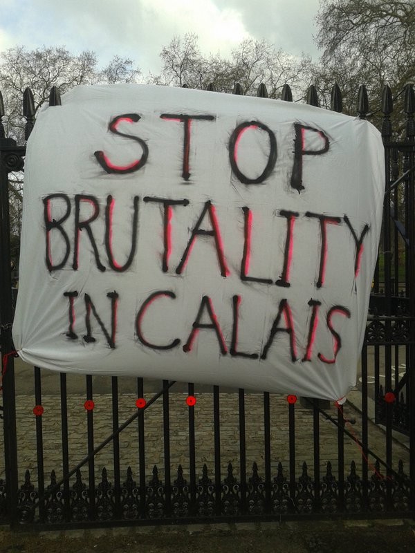 calais stop brutality