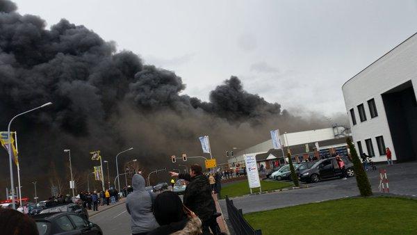 incendio germania popolazione