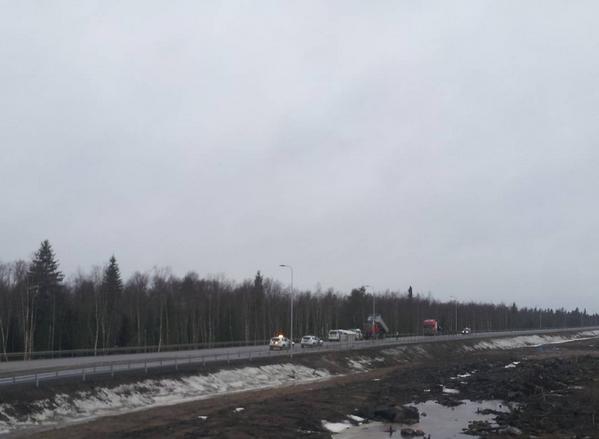 fennovoima highway-blockade