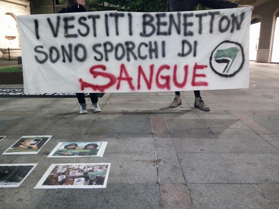 Brescia, presidio a cura del collettivo Brescia Antispecista