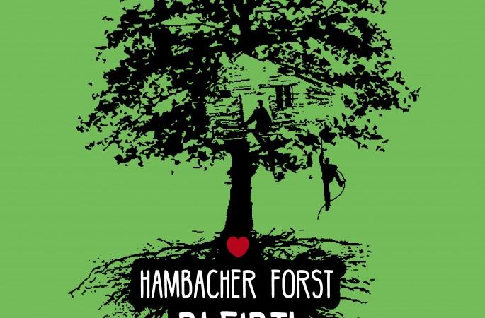 Support Hambi Resistance: a pranzo per la foresta