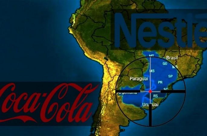 Dal mesozoico a Nestlé: la privatizzazione dell'acqua Guaranì