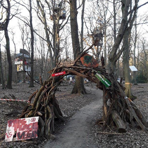 17 - barricata di Gallien vegan zad partout